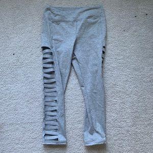 Cut out side leggings